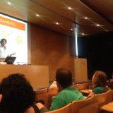 Gustavo Samorano dando una conferencia en Barcelona Activa